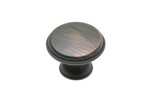 Buton mobila CENTO 28x20.5 mm, cupru antichizat [0]