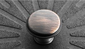 Buton mobila CENTO 28x20.5 mm, cupru antichizat [1]