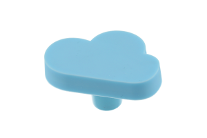 Buton mobila copii CLOUD 47x30 mm, albastru0