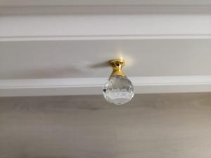 Buton mobila Crystal Palace D30 mm, auriu [1]