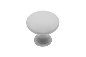 Buton mobila TERNI 30x29 mm, alb mat [0]