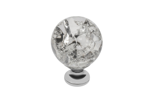 Buton mobila White Crystal 30x43 mm0