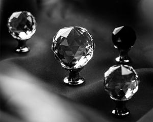 Buton mobila White Crystal D20 [1]