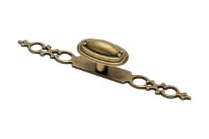 Buton mobila cu sild WP1146, alama antichizata0