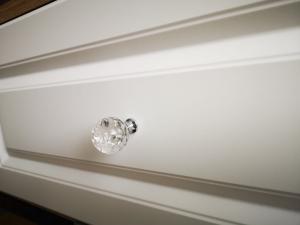 Buton mobila White Crystal 30x43 mm2