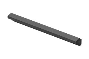 Maner mobila SIGMA 128 mm, negru mat [0]
