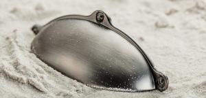Maner mobila MARSALA 64 mm, titan periat [1]