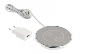 Incarcator wireless LUX, incastrabil in blat, cablu USB 2m0