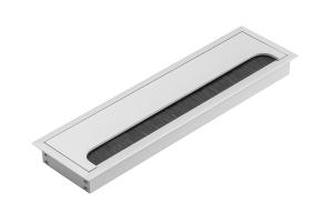 Trecere cabluri MERIDA 80x160 mm, aluminiu [0]