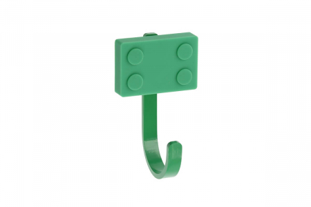 Agatatoare cuier copii BLOCK 45x75 mm, verde [0]