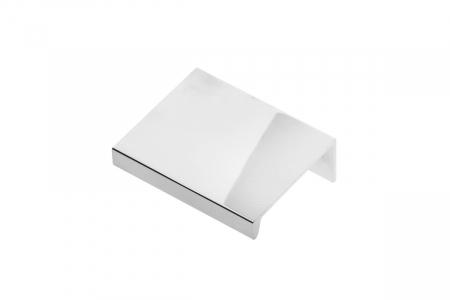 Buton mobila HEXI 50 mm, cromat [0]
