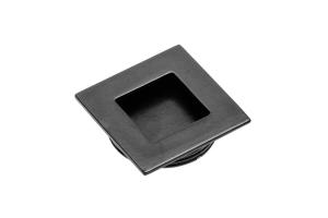 Buton mobila ingropat B226, 40x40 mm, negru mat0