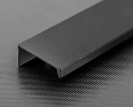 Buton mobila HEXI 50 mm, negru mat [1]