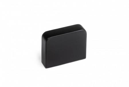 Buton mobila K705 30x25 mm, negru mat [0]