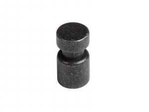 Buton mobila Negru Antic 29x15 mm, WPO7850