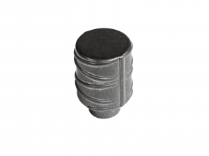 Buton mobila WPO784 17x26 mm, Negru Antic0