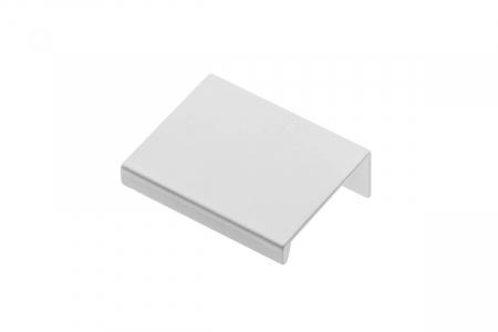 Buton mobila HEXI 50 mm, alb mat [0]