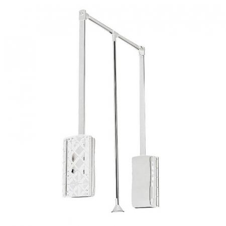 Lift haine reglabil 545-700 mm, alb, GTV - PG-GA4560-10 [0]