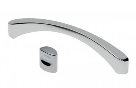 Maner mobila CLEO 128 mm, cromat [1]