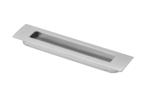 Maner mobila ingropat E6 128 mm, Aluminiu0