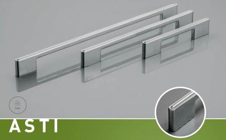 Maner mobila ASTI 128 mm, cromat [1]