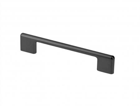 Maner mobila CAPRI 128 mm, negru mat [0]