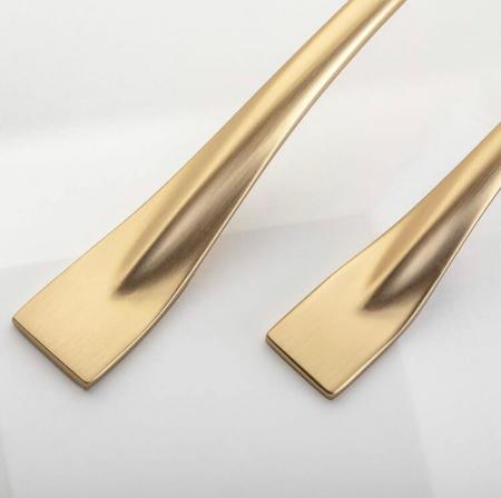 Maner mobila FLOW 128 mm, auriu [1]