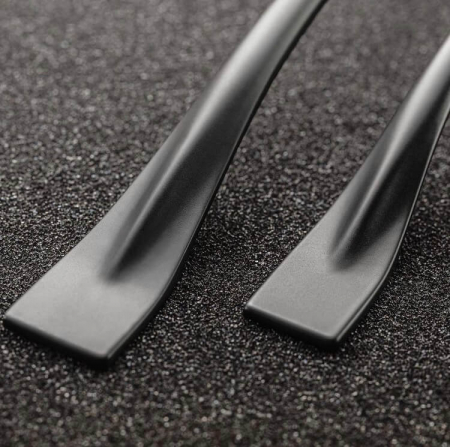 Maner mobila FLOW 128 mm, negru mat [1]