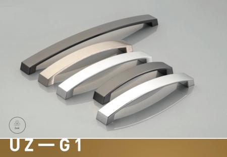 Maner mobila G1 160 mm, negru mat [1]