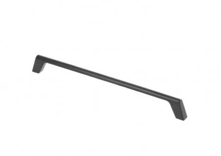 Maner mobila G2 160 mm, negru mat [0]