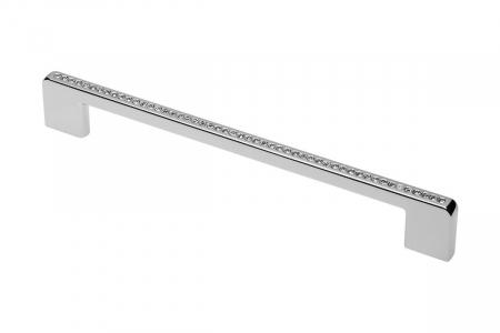 Maner mobila GLAMOUR 192 mm, cromat [0]