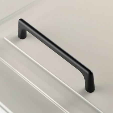Maner mobila OCTAVIO 192 mm, negru mat [1]