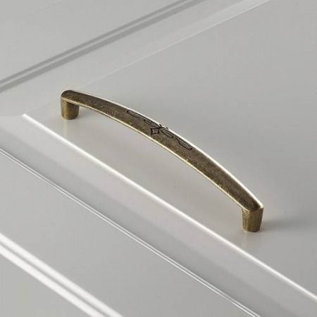 Maner mobila Olbia 128 mm, alama antichizata [1]