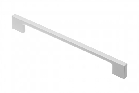 Maner mobila ZAMAK 96 mm, alb mat [0]