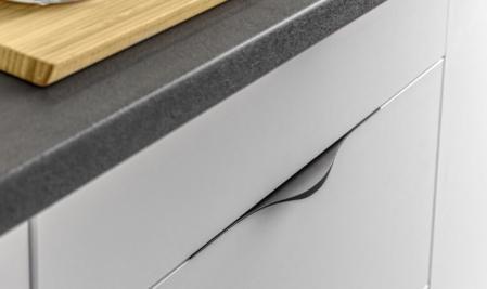 Maner mobila PICADO 496 mm, negru mat [1]