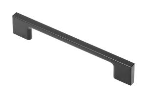 Maner mobila ZAMAK 128 mm, Negru Mat0