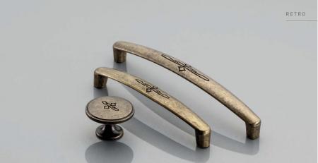 Maner mobila Olbia 96 mm, alama antichizata [2]