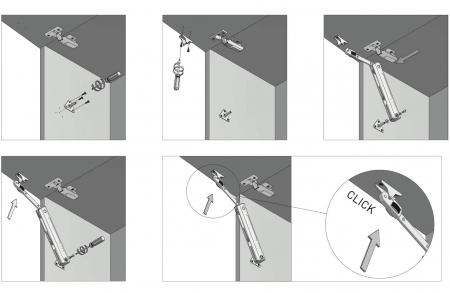 Piston de ridicare MINILIFT Medium 3.5-4.5 kg9