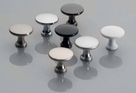 Buton mobila UDINE 29x25 mm, aluminiu [1]