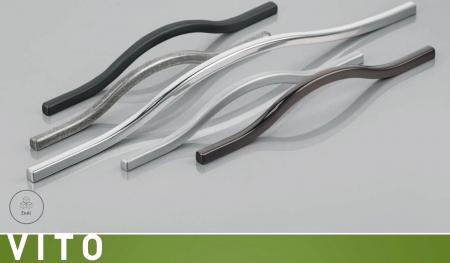 Maner mobila VITO 288 mm, negru mat [1]