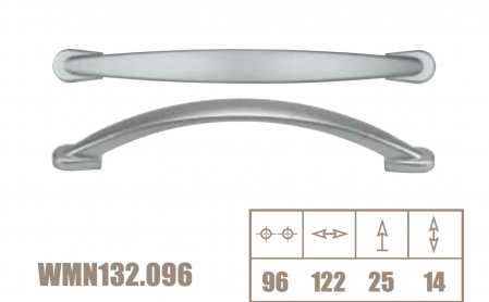 Maner mobila WMN132 96 mm, alama antichizata [2]