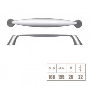 Maner WMN163 160 mm, otel periat [1]