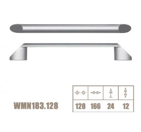 Maner mobila WMN183 128 mm, aluminiu [2]