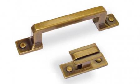 Buton mobila WPO118 45x22 mm, alama antichizata [1]