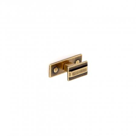 Buton mobila WPO118 45x22 mm, alama antichizata [0]