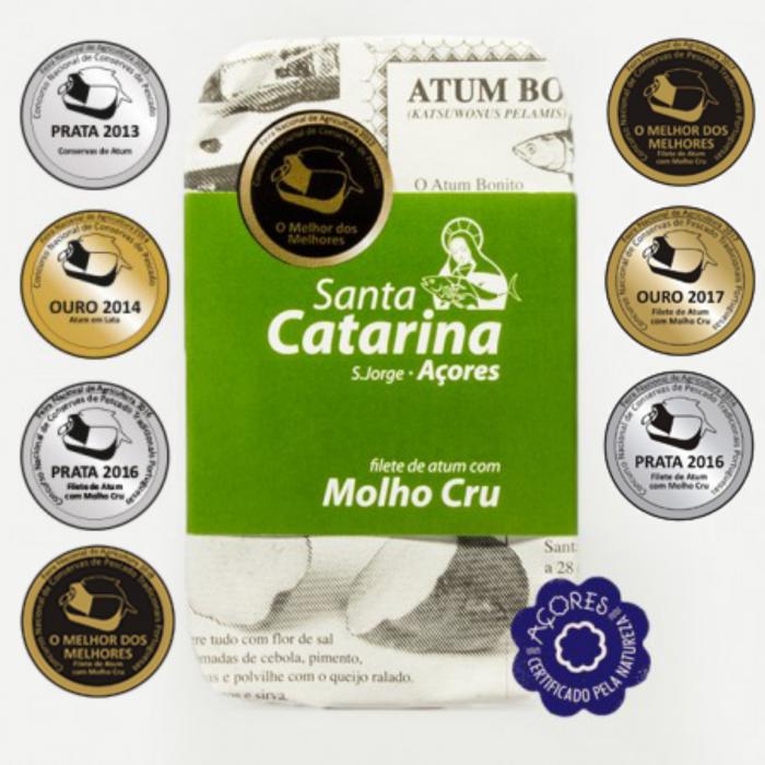 Santa Catarina ton cu molho cru 0