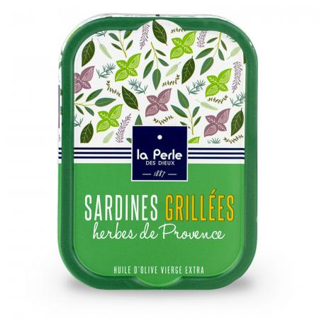 SARDINE GRILLES CU IERBURI DE PROVENCE0