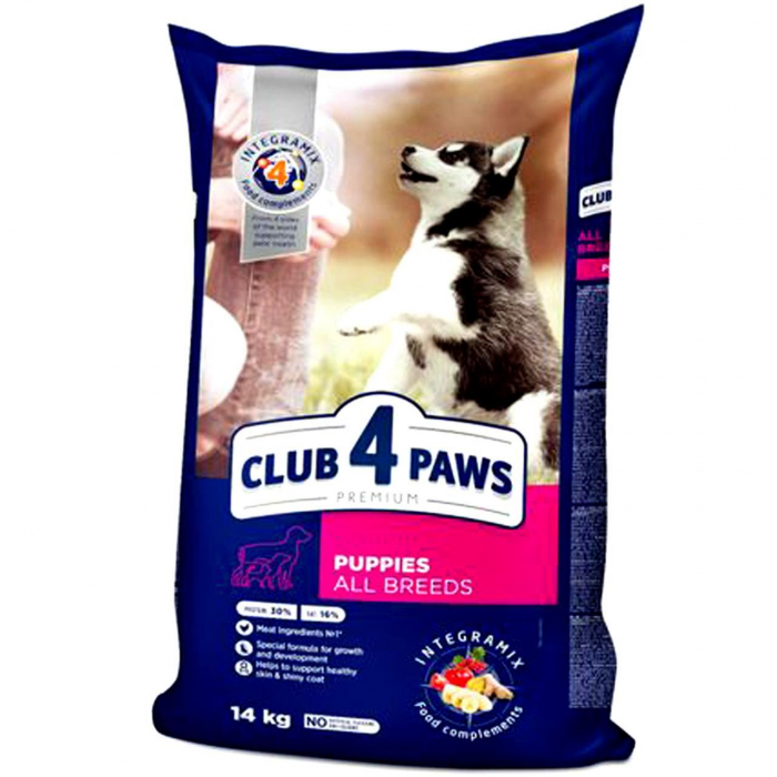 CLUB 4 PAWS DOG USC PUPPIES ALL BREEDS  14 KG 0