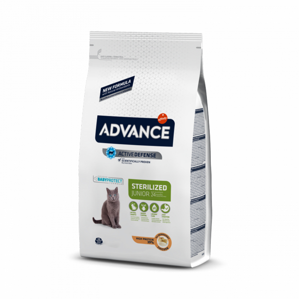 Advance Cat  Junior Somon Sterilizate Vrac per Kg 0