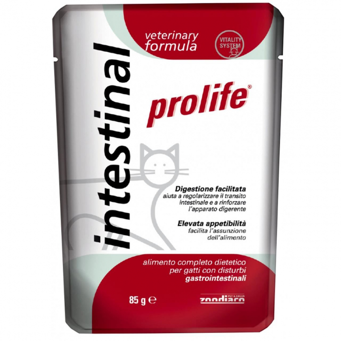 Plic Pisica Intestinal Prolife 85gr 0